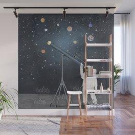Astronaut Astrology Wall Mural
