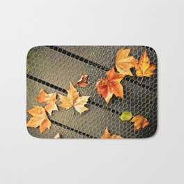 Trail of Leaves Bath Mat