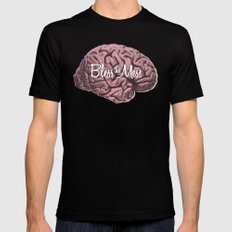 Bless this Mess. MEDIUM Black Mens Fitted Tee