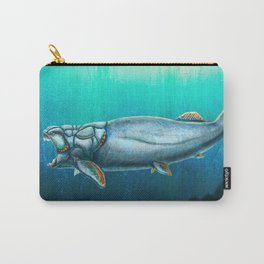 Dunkleosteus Terrelli Restored Carry-All Pouch