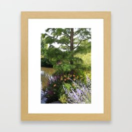 Garlic and Sapphires in the mud Framed Art Print