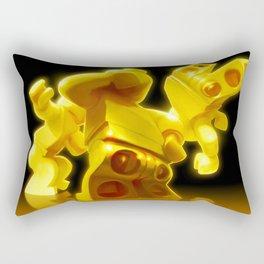Yellow Butts Rectangular Pillow