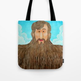 Jim's Amazing Beard Tote Bag