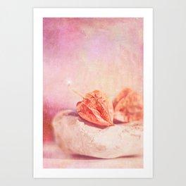 PHYSALIS Art Print