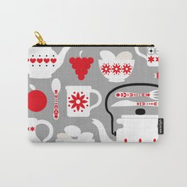 Retro Kitchen Design Art Print Carry-All Pouch