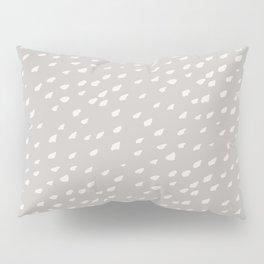 Nordic gray Pillow Sham