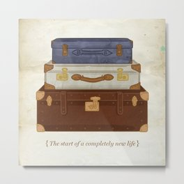 The start of a completely new life. By Priscilla Li Metal Print