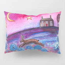 Magenta Skies Pillow Sham