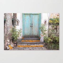 Marigolds Canvas Print
