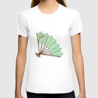 terry fan T-shirts featuring Fan by Rene Robinson