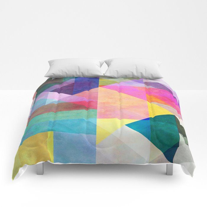 Color Blocking 2 Comforters