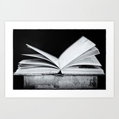 An Open Book Art Print
