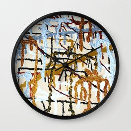 Father Son DNA Wall Clock