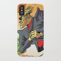 agents of shield iPhone & iPod Cases featuring CIA Agents! by Moshik Gulst