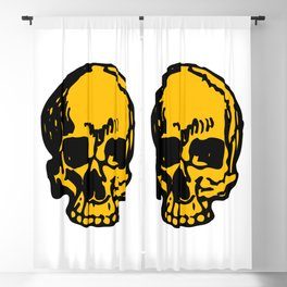 24K Gold Pirate Skull, Vibrant Skull, Super Smooth Super Sharp 9000px x 11250px PNG Blackout Curtain
