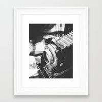 old school Framed Art Prints featuring Old school  by Olivier P.