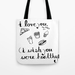 Health Problems Tote Bag