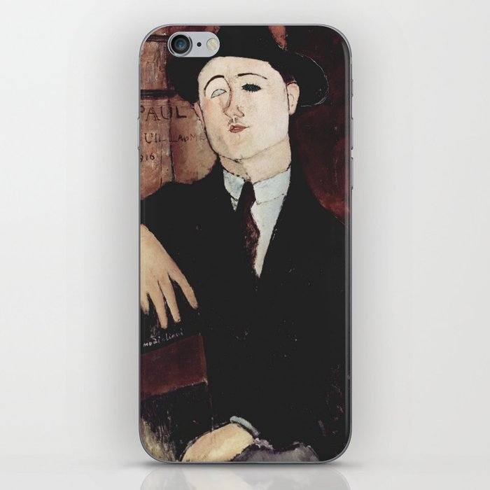 Paul Guillaume by Amedeo Modigliani iPhone Skin