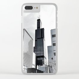 Sears Tower Chicago Clear iPhone Case