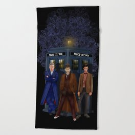 The best regeneration of Doctor who Beach Towel
