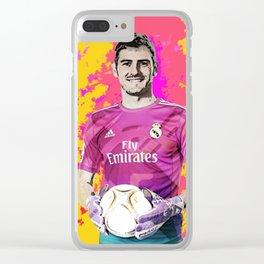 Iker Casillas Clear iPhone Case