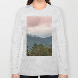 Great Smoky Mountain National Park Sunset Layers III - Nature Photography Long Sleeve T-shirt
