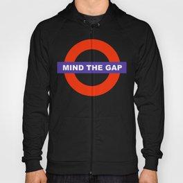 Mind The Gap Logo Hoody