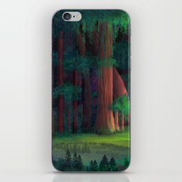The Ancient Forest iPhone Skin