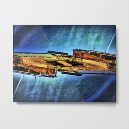 Sunday 7 October 2012: Irradiated Slim Lens Ripper Metal Print