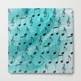 Music notes Metal Print