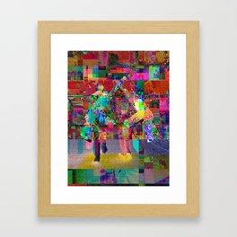 Guns&Romance Framed Art Print