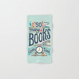 So many books so little time Hand & Bath Towel
