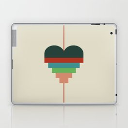 heart geometry Laptop & iPad Skin