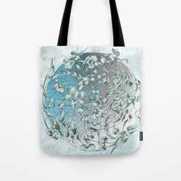 'The green world is man's sacred centre. Tote Bag