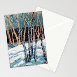 White Birch Grove / Dennis Weber / ShreddyStudio Stationery Cards