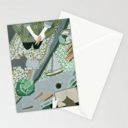 Carrot picnic Stationery Cards
