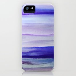 Purple Mountains' Majesty iPhone Case