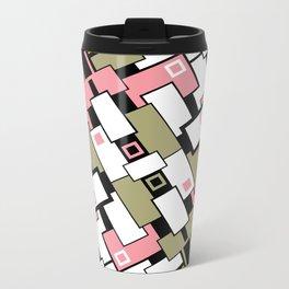 C13D GeoAbstract 2 Metal Travel Mug
