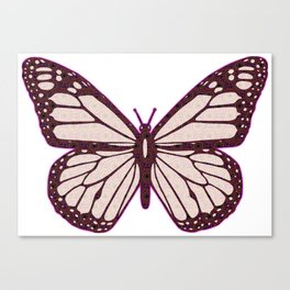Butterfly Cutie Canvas Print