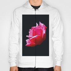 rose on black Hoody