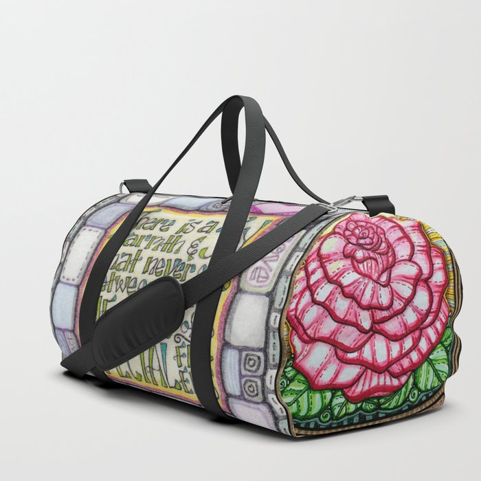My Patchwork Friendship Squares Duffle Bag
