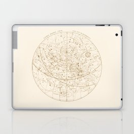 Visible Heavens - Gold Laptop & iPad Skin