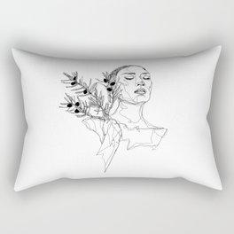 Olive (Black) Rectangular Pillow