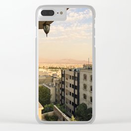 Meditehranian Clear iPhone Case