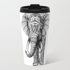 Ornate Elephant Travel Mug