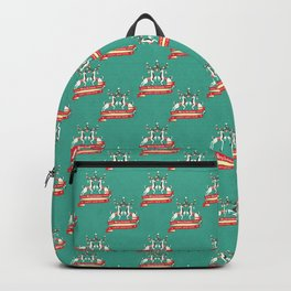 Christmas Deers with baubles Backpack