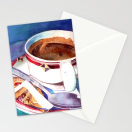 Cafe con Leche Stationery Cards