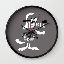 Mister Peabody Wall Clock