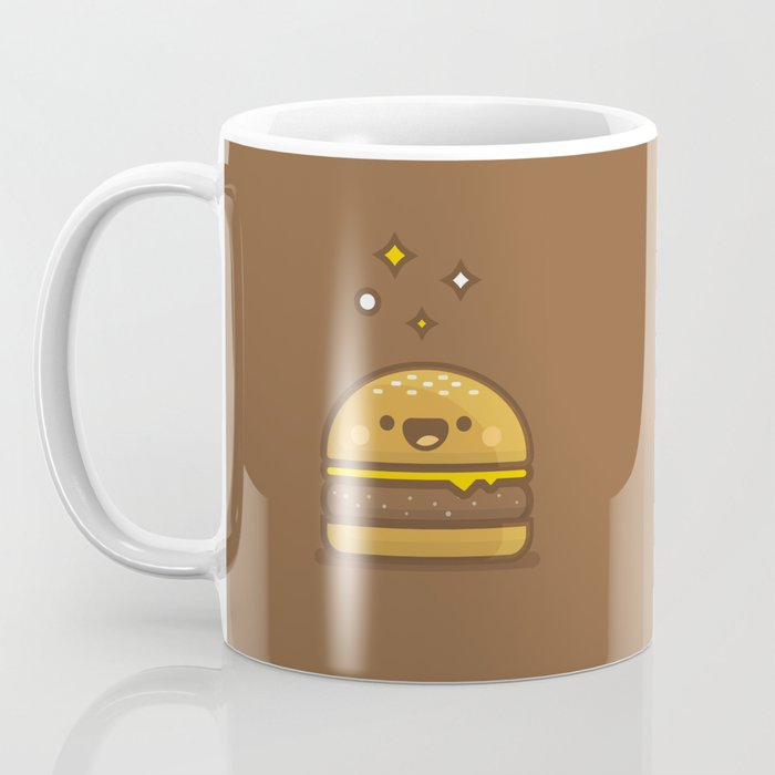 Golden Cheeseburger Coffee Mug