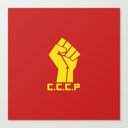 CCCP Fist Canvas Print